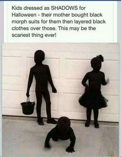 Kids dressed as