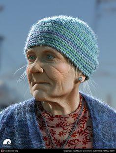 Stunning realistic CG Portraits