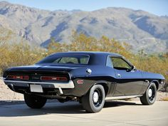 1971 Dodge Challenger R/T Maintenance/restoration of old/vintage vehicles: the material for new cogs/casters/gears/pads could be cast polyamide which I (Cast polyamide) can produce. My contact: tatjana.alic@windowslive.com
