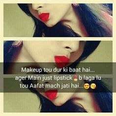 Whatsapp DP For Girls Collection 6 Crazy Girl Quotes, Girly Quotes, Crazy Girls, Attitude Quotes For Girls, Girl Attitude, Attitude Status, Love Quotes In Hindi, Cute Love Quotes, Funny Qoutes