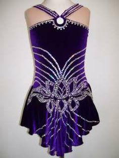 Baton Twirling Costumes for Competition | Competition Ice/Roller Figure Skating dress/Baton Twirling costume