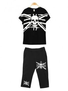 2014 New arrival casual skull pattern loose cotton track suit is stylish women and girls all match! It is made of cotton and loose so is comfortable to wear! List Style, Playsuits, Adidas Jacket, Casual, Fashion Women, Suit Fashion, Active Wear, Sweatpants, Clothes For Women