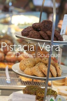 Pistacia Vera, The Most Beautiful French Bakery Boutique, Columbus, OH.  I haven't actually visited it yet, but I have had some heavenly cookies from there!