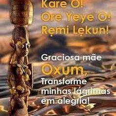 Frases de Oxum   Centro Pai João de Angola Goddesses, Mandala, Light Art, Spiritual Connection, Good Night Moon, Funny, Centre, Mandalas