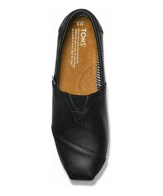 bd1be88ed353 This is the perforated leather version of the original TOMS shoe that  started it all. Constructed like the traditional Argentinian alpargata