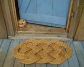 Ocean Mat and  Nautical Doormat. $70.80, via Etsy.