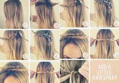 Ez a tipp egy haj amit ünnepek kór  vagy akár  hétköznaponként is elkészíthettek magatoknak HAJRÁ!!!