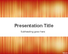 free abstract powerpoint background template