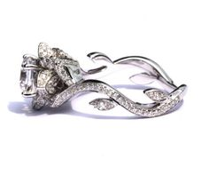 A beautiful engagement ring inspired by beauty and the beast Disney film one of the greatest