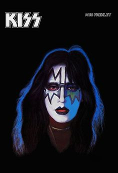 KISS Ace Frehley Solo Album Stand-Up Display por kiss76 en Etsy