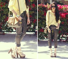 Hello, mellow yellow (by Analisa Nguyen) http://lookbook.nu/look/3349545-hello-mellow-yellow