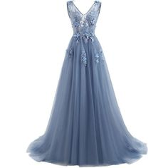 Cheap dress custom, Buy Quality dress mermaid directly from China dress up plain dress Suppliers: Elie Saab Blue Evening Dresses 2017 Plus Size Tulle Appliques Long Formal Dresses Gowns V Neck Lace Up Sleeveless Robe De Soiree Elie Saab, Cheap Evening Dresses, Cheap Dresses, Prom Dresses, Long Formal Gowns, Formal Dresses, Empire Line Wedding Dress, Dress Plus Size, The Dress