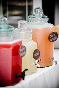 Bar à limonades pour les mariages d'été