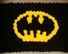This is a handmade Minion Pom Pom rug. It is approx in x It would make a great gift for any Minion fan of all ages. Batman Logo, Superhero Logos, Pom Pom Rug, How To Make A Pom Pom, Pom Pom Crafts, Minions, Patches, Pink, Arts And Crafts
