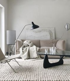 Living room inspiration | Mantis floor lamp available at www.istome.co.uk