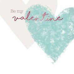 Valentine Card - Be My Valentine