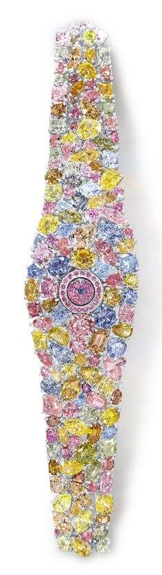 In 1960, Laurence Graff founded the Graff Diamonds Company. -ShazB ...Graff Diamonds Hallucination Watch