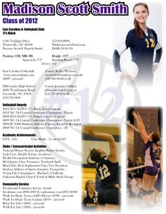 Athletic Resume Template Free Resume Format Templates GKVAp