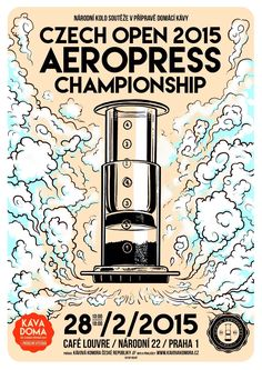 Image result for aeropress competition posters