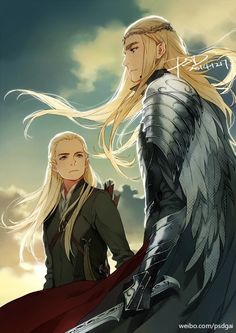 Thranduil and Legolas
