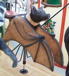 Calgary Zoo Carousel Works Bat