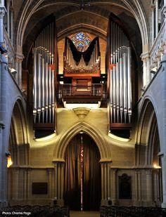 C.B. Fisk pipe organ, opus 120, Switzerland.