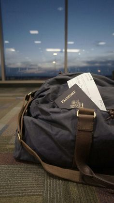 Airport-passport-luggage-travel