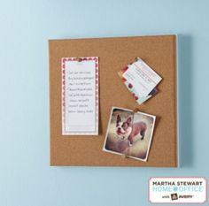 Staples®. has the Martha Stewart Home Office™ with Avery® Wall Manager Cork Board you need for home office or business. FREE Shipping on all orders over $45, plus Rewards Members get 5 percent back on everything!