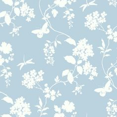 York Wallcovering Blue Book Scenic Vines Wallpaper AP742! #Wallpapernation #Wallpaper #Traditional