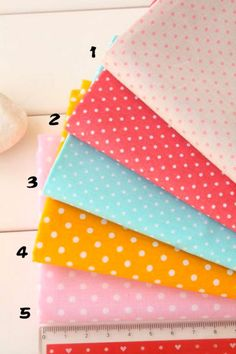 Tissu de coton pur - Dot - TG-0009
