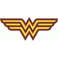 Continuing the making the symbols i move onto the other dc guys silhouette design store wonder woman logo pronofoot35fo Image collections