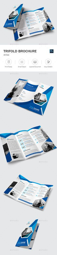 Travel Agency Trifold Brochure Brochure template, Brochures and - tourist brochure template