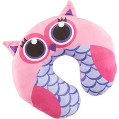 Northpoint Trading Kids' Animal Character Travel Pillow