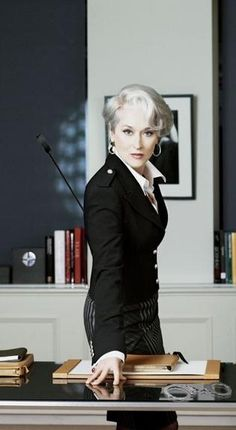 """Miranda Priestly (by Meryl Streep): """"That's all."""" -- from The Devil Wears Prada directed by David Frankel Meryl Streep, Miranda Priestly, Beautiful People, Beautiful Women, Joseph Ribkoff, Devil Wears Prada, Winter Mode, Best Actress, Madame"""