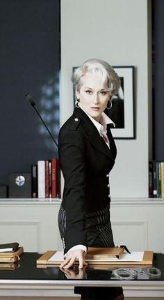 Meryl Streep -Miranda Priestly (El diablo viste de Prada)