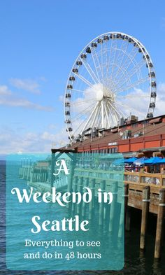 What should you do if you only have 48 hours in Seattle? We give a detailed itinerary with maps of everything you need to do and see, including the Seattle Center, Pike Place Market, Olympic Sculpture Park, and more!