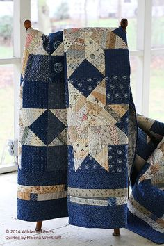 Helena Wentzlaff's quilts are to quilting what Mt. Rushmore, apple pie and country living represent in American folklore. Our heritage, home and roots.