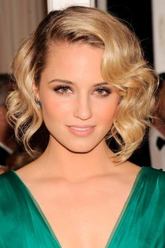 My hair is a little longer than this how but I think in could pull it off