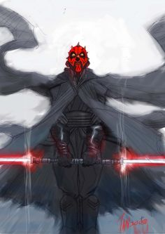 Star Wars - Darth Maul by Tan Eng Huat *