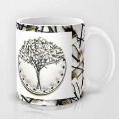 Winter Tree Mug by Bozena Wojtaszek  - $15.00