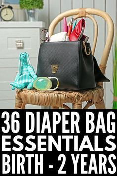 36 Diaper Bag Essentials | Trying to get organized for the arrival of your first baby? Already brought your newborn home from the hospital? This diaper bag checklist outlines what you will need at each stage of your baby's development while you're out and about. We're included essentials for newborns, babies aged 6-12 months, for 1-year-old toddlers, and more! We've even linked to 8 stylish bags for mom, including options daddy won't mind carrying! #diaperbagessenti Diaper Bag Checklist, Diaper Bag Essentials, Grey Nursery Boy, Baby Nursery Themes, Baby Bottle Holders, Diaper Backpack, Diaper Bags, New Baby Announcements, Baby Boy Photos