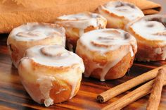 Before you get started, make sure you have everything you need for the buns, the filling, and the glaze. You can always crunch up some Pecans or some Almonds and