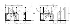 Master on pinterest bathroom floor plans floor plans for Master bathroom floor plans 10x12