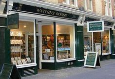 Book not only enhance your knowledge, they are a great companion in your loneliness. The #WatkinsBookstore at Cecil Court has great a collection.