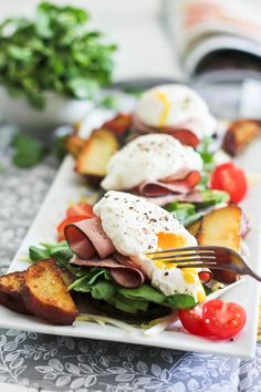 Poached Egg on Portebello | by Sonia! The Healthy Foodie