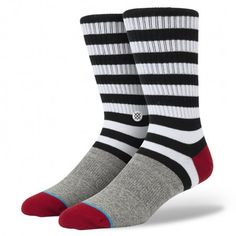Start your day with a healthy dose of morphine. Thanks to its premium combed cotton and deep heel pocket, Stance's Morphine will put you at ease. The sock's elastic arch and self-adjusting cuff cradle the contours of your feet while mesh vents help them breathe. To keep things plush—and offer additional durability—the Morphine also sports a reinforced heel and toe. Mellow out with Stance's Morphine $10