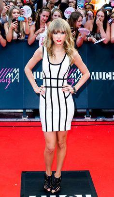 Taylor Swift arriving at the 2013 MuchMusic Video Awards in Toronto, Canada - June 16, 2013 - Photo: Runway Manhattan/ZUMA Press