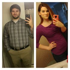 7 years apart. 3.5  years HRT. Never give up. Keep moving forward. It's worth it ;-)