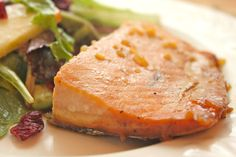 Maple Glazed Salmon...this is so very good!