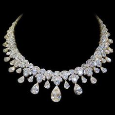 Estate Diamond Necklace, 150 Carats!....